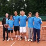 Zum Gewinn der sächsischen Tennismeisterschaft